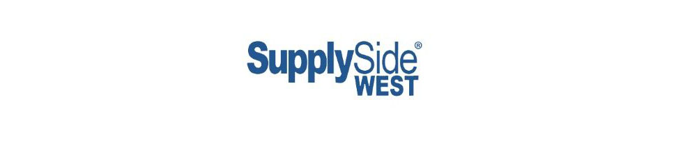 Welcome to visit us at SupplySide West-September 27 & 28, 2017  Booth #WW133